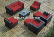 Outdoor Patio Wicker Furniture All Weather Gorgeous Garden Sofa Set