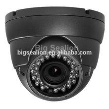 1.0 Megapixel Cmos Sensor Metal Case Convert CCTV Dome IP PoE Camera