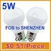 Promotion New High-quality 0.51/pieceenergy saving 5w led lighting bulb