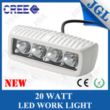 20w cree LED driving light, mini motorcycle working light, 24v led work light spot