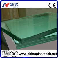 """CE&ISO&CCC Heat Insulation Size&Color Customized Safety Laminated 2"""" Thick Plate Glass"""