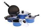 alloy porcelain coated cast iron cookware