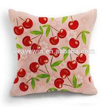 Newest special 100% cotton canvas Promotion Machine washable sublimated pillow case