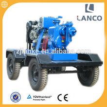 Lanco H type High pressure self priming centrifugal 6 inch 50 hp water pump