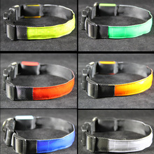 Wholesale Waterproof Pet Dog LED Flash Safety Nylon Collar and Leash
