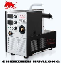 Máquina de soldadura mig importados de china mig-270 construir- en el alimentador de alambre