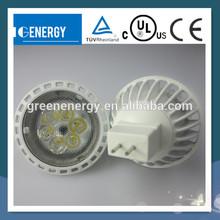MR16 base 5W aluminum materials much safer 12 Volt LED