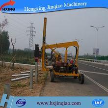 Yc230/260 highway construction hammer vibratory piling truck