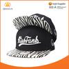 2015 black zebra stripe leather printed brim dome cap 3d acrylic letters embroidery acrylic custom snapback hats wholesale