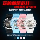 3 atm waterproof custom logo watch plastic