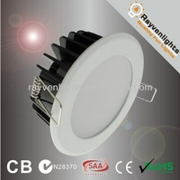SAA approved 10w SMD dimmable led ceiling light foshan lighting