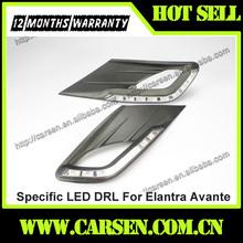 Wholesale -8 LEDs- Car Specific LED DRL For Hyundai Elantra Avante Daytime Running Light 2012