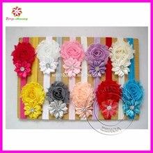 Kids Girl Baby Toddler Infant Satin Chiffon Flower Headband