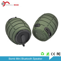 Newest Generation mini grenade speaker handy bluetooth music player