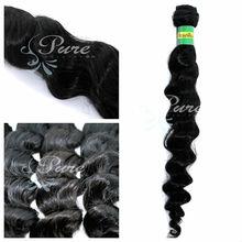 2014 FACTION 6A hot virgin Brazilian curly hair extensions deep wave type