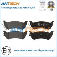 Rear Car Brake Pad FDB1401/D761-7629(WVA23189/23190/23191/23192) for MERCEDES-BENZ