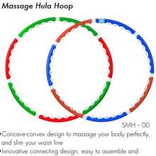 como visto na tv equipamentos deginástica acessório novo produto china dobrável hula hoop