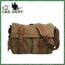 Men's Shoulder canvas military bag