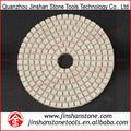 la mejor calidad de diamante blanco flexibles almohadillas para pulir para el granito y piedra de ingeniería