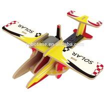 Promotional China Environmental Solar toy plane model