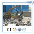 التشغيل اليدوي y81-3150 الهيدروليكية بدوره-- out نوع النفايات إعادة تدوير الخردة الصحافة آلة معدنية محزمة