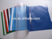 Hecho en china caliente de la venta de papelería de oficina cubierta transparente carpeta informe ryx-crf004