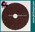 de óxido de aluminio de fibra de discos de lijado de madera