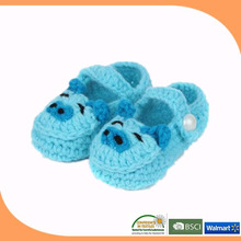 2014 soft sole baby shoes, happy baby shoes