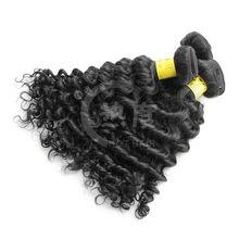 Long time wear deep weave high quality brazilian virgin human hair