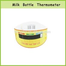 CE Digital Liquid Crystal Plastic Kid Feversan Strip Thermometer