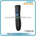 Dvd controle remoto universal códigos; 6 em 1 universal controle remoto com a aprendizagem da função de produção