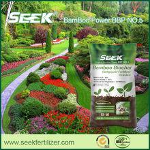 2014 bamboo biochar Compound Fertilizer feeds plants and soil