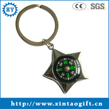 Fashion compass keychain gifts for office use
