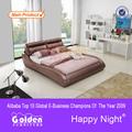foshan emass presidente moderna fabricante de muebles de dormitorio cama g963
