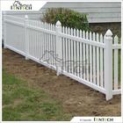 Fentech White Decorative Outdoor Plastic Garden Fence