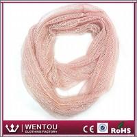 Fashionable popular bead piece polyester print owl scarf