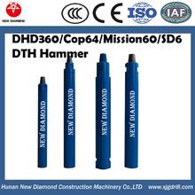 """6"""" Hard rock drill hammer/Ingersoll rand dth hammer/drilling rig dth hammer(SD6/QL60)"""