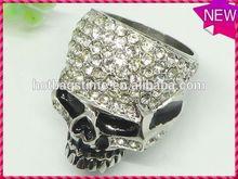 Modern personalized design jewelry creative wave pattern panda ring