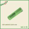 CGR18650CG 3.6V 2250mAh Li-ion Battery Cell