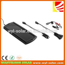 12V Smart Solar Battery Charger For Cars/Trucks/Boats
