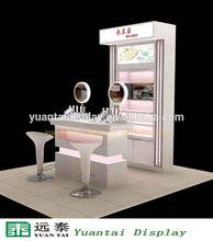 Fashion perfume display stand cosmetic store furniture