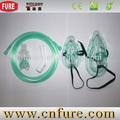 Médicos descartáveis máscara de oxigênio, Oxigênio Venturi máscara, Máscara de nebulização de oxigênio