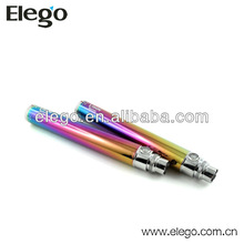 2014 Elego Vision Spinner Rainbow Battery 650mah, 900mah, 1300mah Variable Voltage Colourful Choice Hot Sales