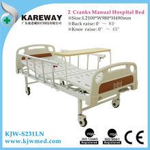 Plastic crank Mechanisms for folding beds