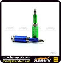 High quality karmy k100 electronic cigarette with ic protection chip/kick at factory wholesale price-green
