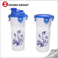 reusable plastic straw cup for kids plastic cup microwave safe