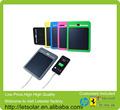 Nuevo 2014 faionable y solar de calentamiento de aire del panel para el iphone, ipad, móvil