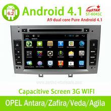 EKK yeni saf android 4.1 araç stereo Opel Antara/zafira/veda/agila/corsa/vectra canbus/3g/wifi/radyo/dvd/bt/gps/Swc/MP4