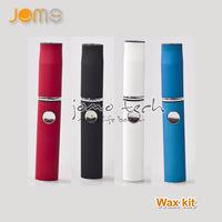 Wax vaporizer JOMO pen vaporizer kit mini Wax Vapo kit 6 colors Grade A battery e cig kit