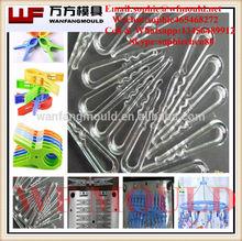 2014 China OEM Custom plastic injection Shirt clip Mould/Plastic injection mold for Shirt clip/Plastic injection Shirt Clip Mold